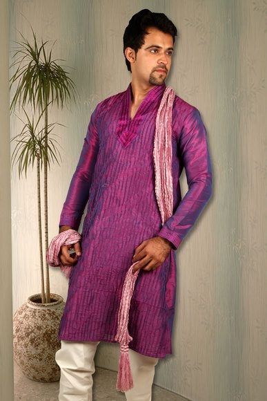 High Fashion Purple Kurta BL4027