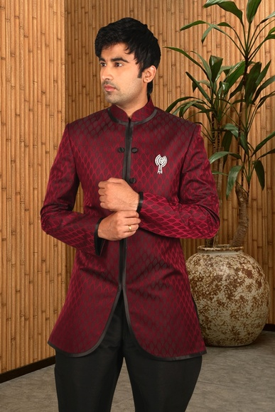 Apple Cut Indo Western Sherwani BL1033
