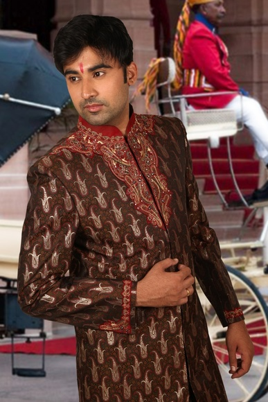 Splendid Wedding Sherwani BL2042