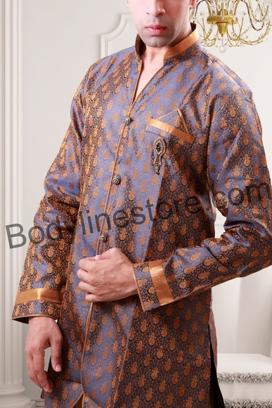 Smart Semi Sherwani BL1045