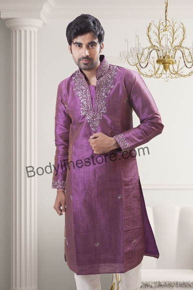 Purple Kurta Pajama BL4046