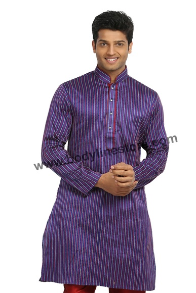 Purple Kurta Pajama RK4088