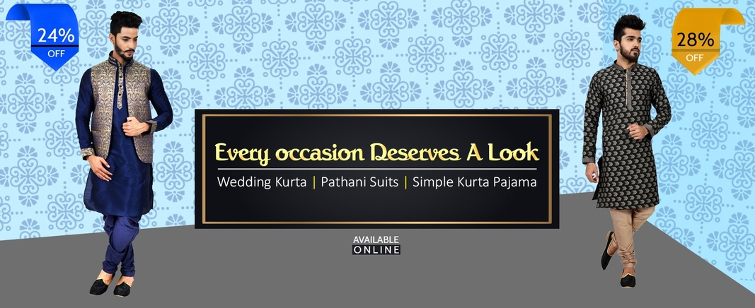 Wedding Kurta Pajama, Kurta For Men Online