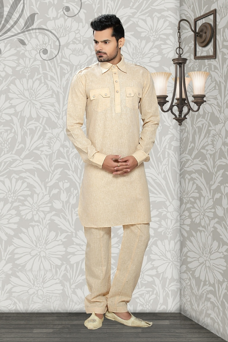 Brown Color opulent  Ethnic Kurta Payjama