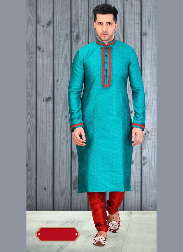 Bodylinestore | Products | wedding kurta | Glamourous Blue Color ...