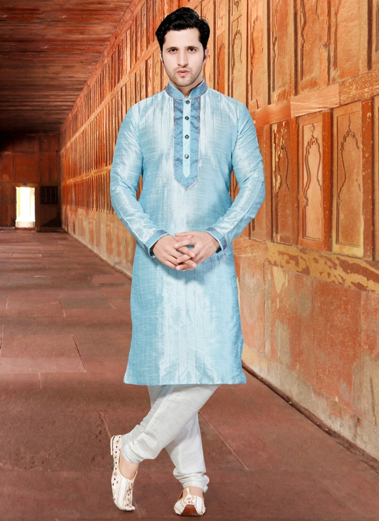 Extra ordinary Blue Kurta Payjama