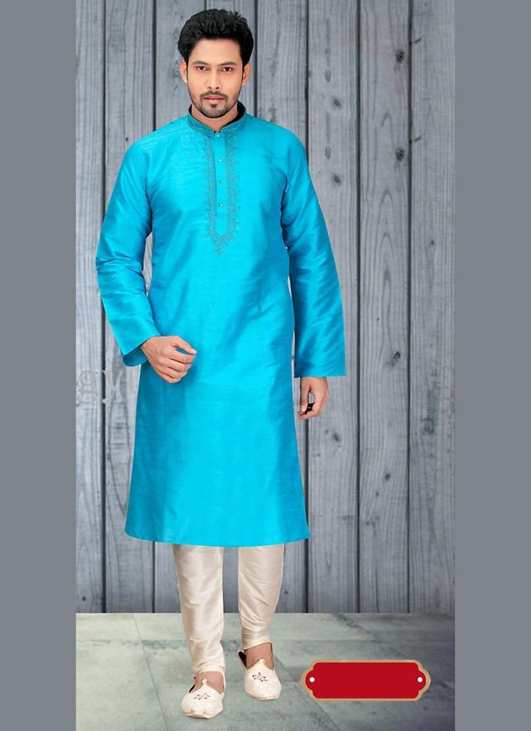 Bodylinestore | Products | wedding kurta | Sensational Blue Color ...