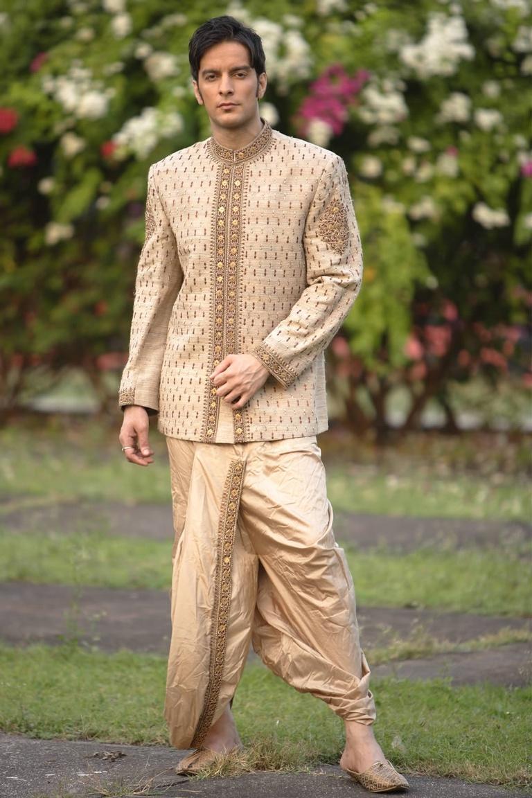 Jodhpuri Style Dhoti Sherwani BL2017