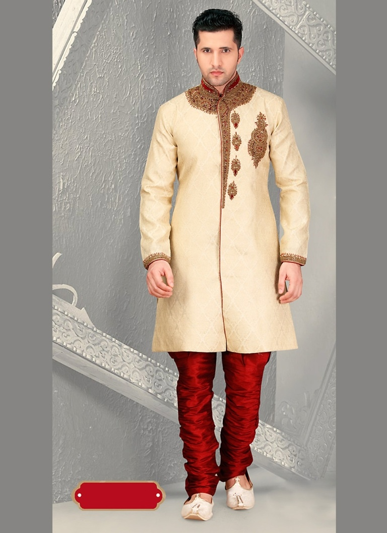 Eye Catching Mens Royal Sherwani For Wedding