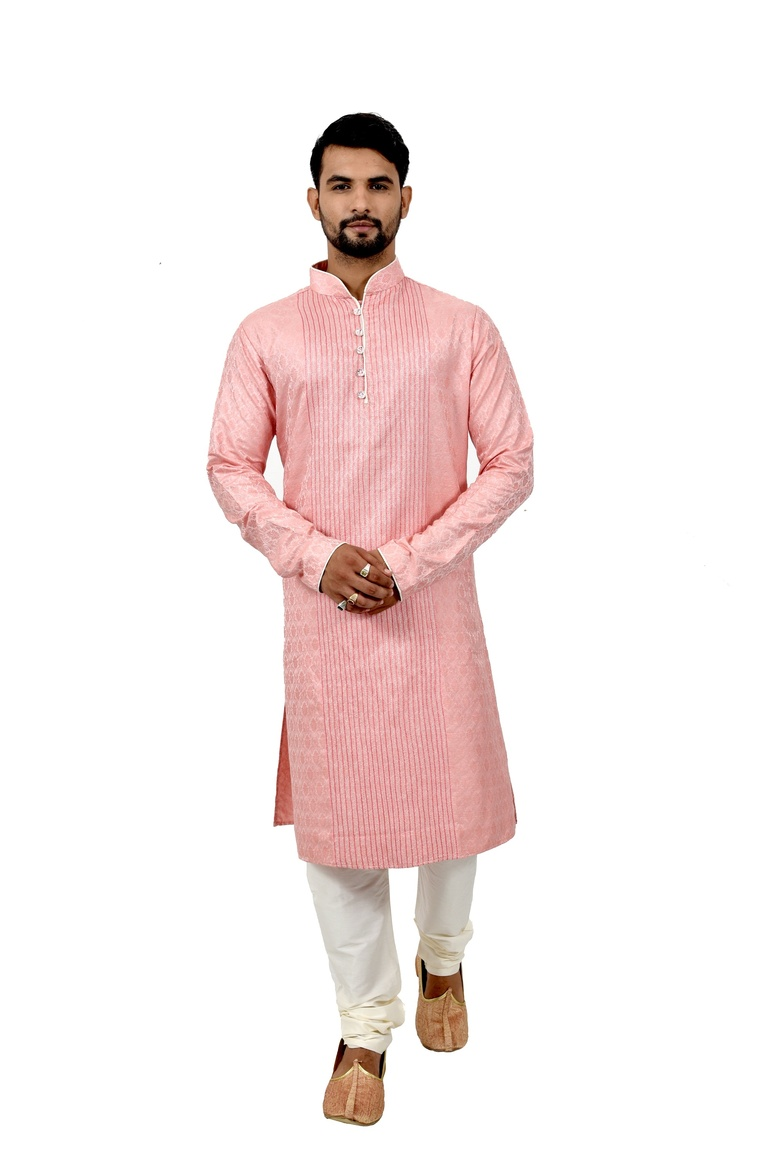 Cottoncandy Brocadesilk Wedding Kurta Pajama