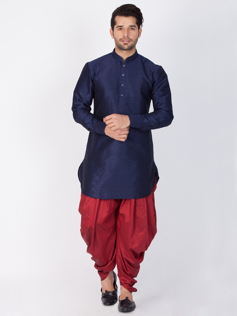 Luxurious Look Online Black Kurta For Men