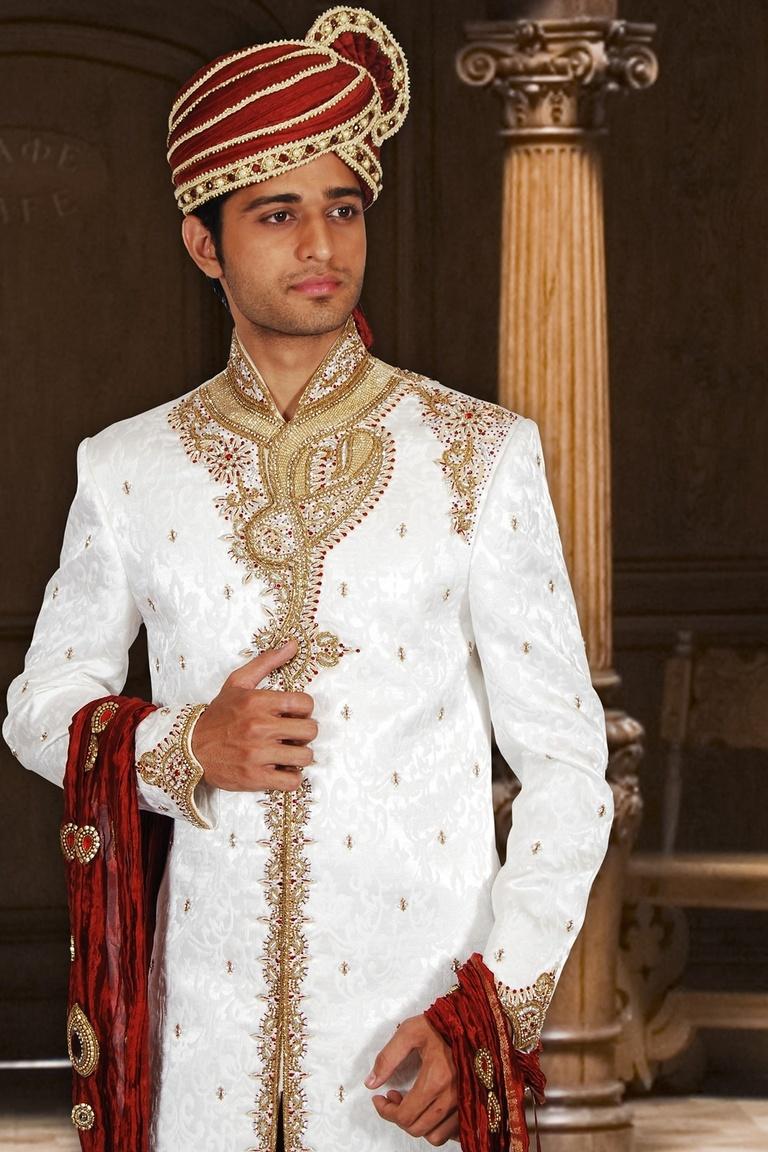 Ideal Wedding Dhoti Sherwani BL2027
