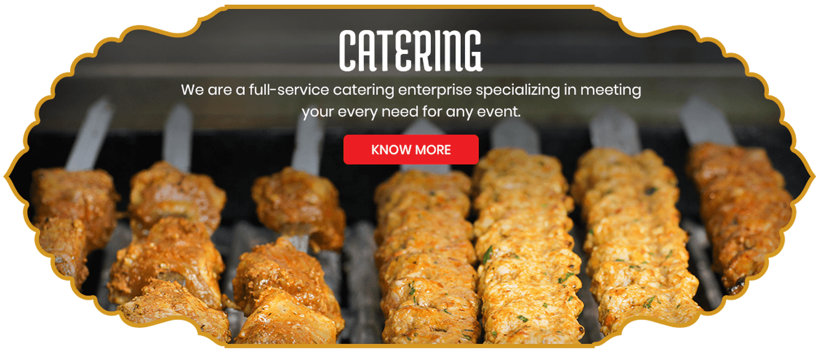 We are a Full-Service Catering Enterprise Specializing in Meeting Your Every Need for any Event