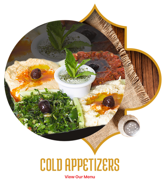 Cold Appetizers at Istanbul Grill - Mediterranean Food in Orlando