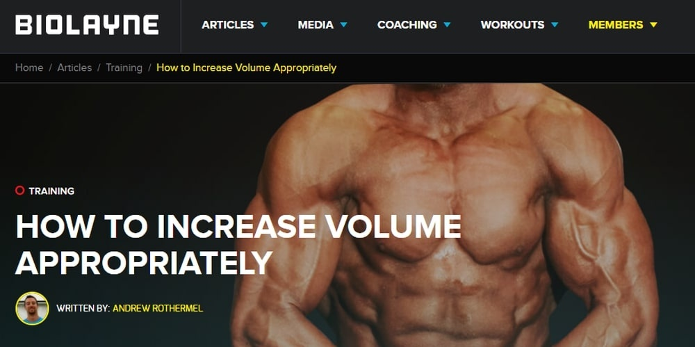 How to Increase Volume Appropriately