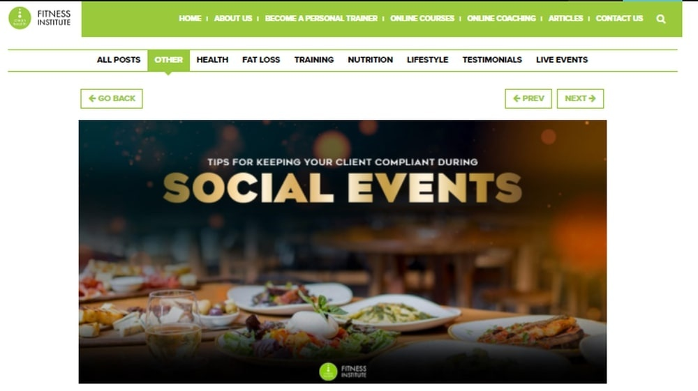 Tips for Keeping Your Client Compliant During Social Events