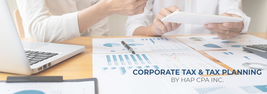 Corporate Tax Planning Richmond