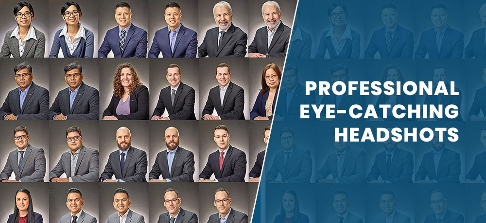 Professional Eye-Catching Headshots