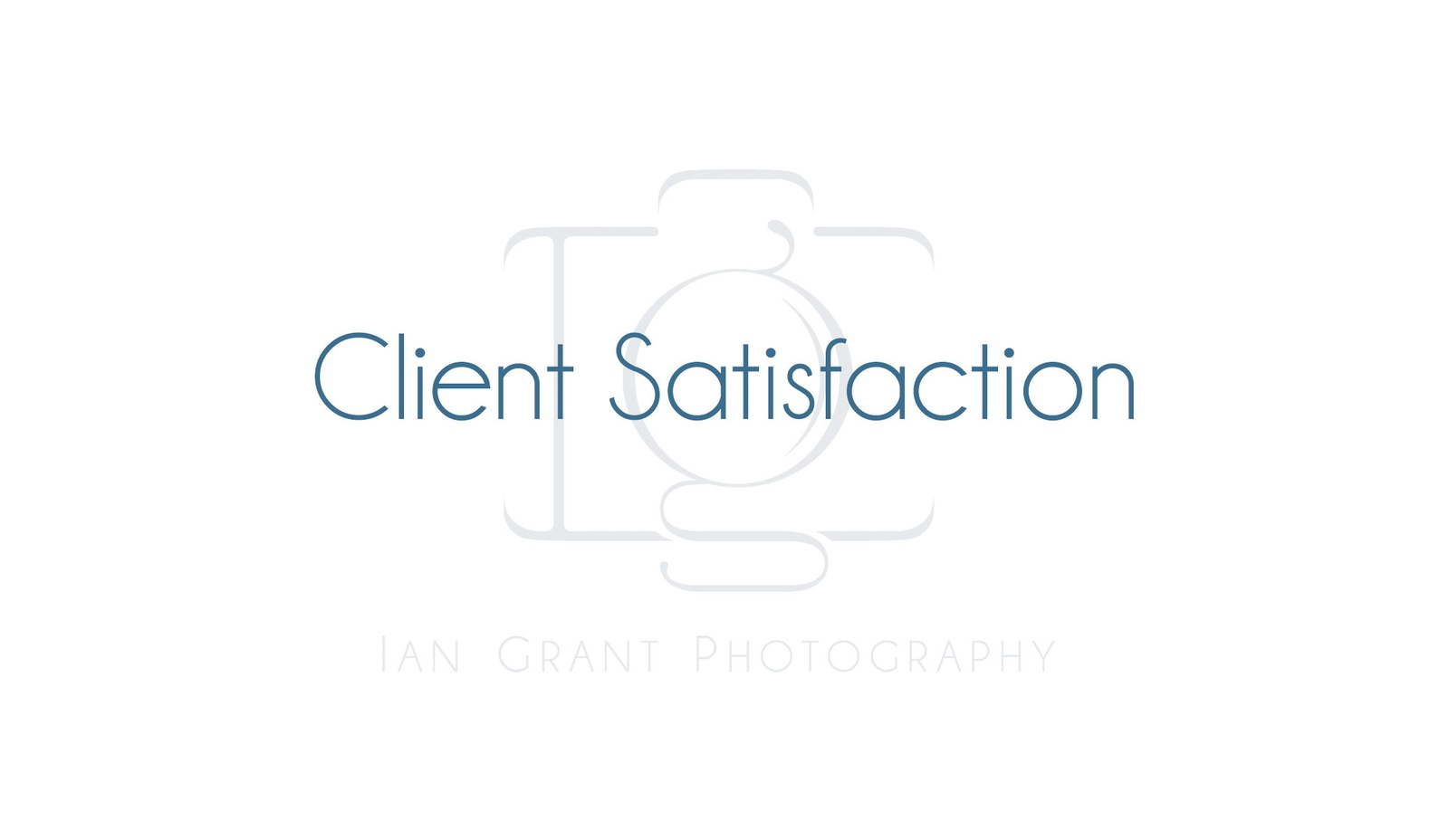 Client Satisfaction - Commercial Photography Toronto by Ian Grant