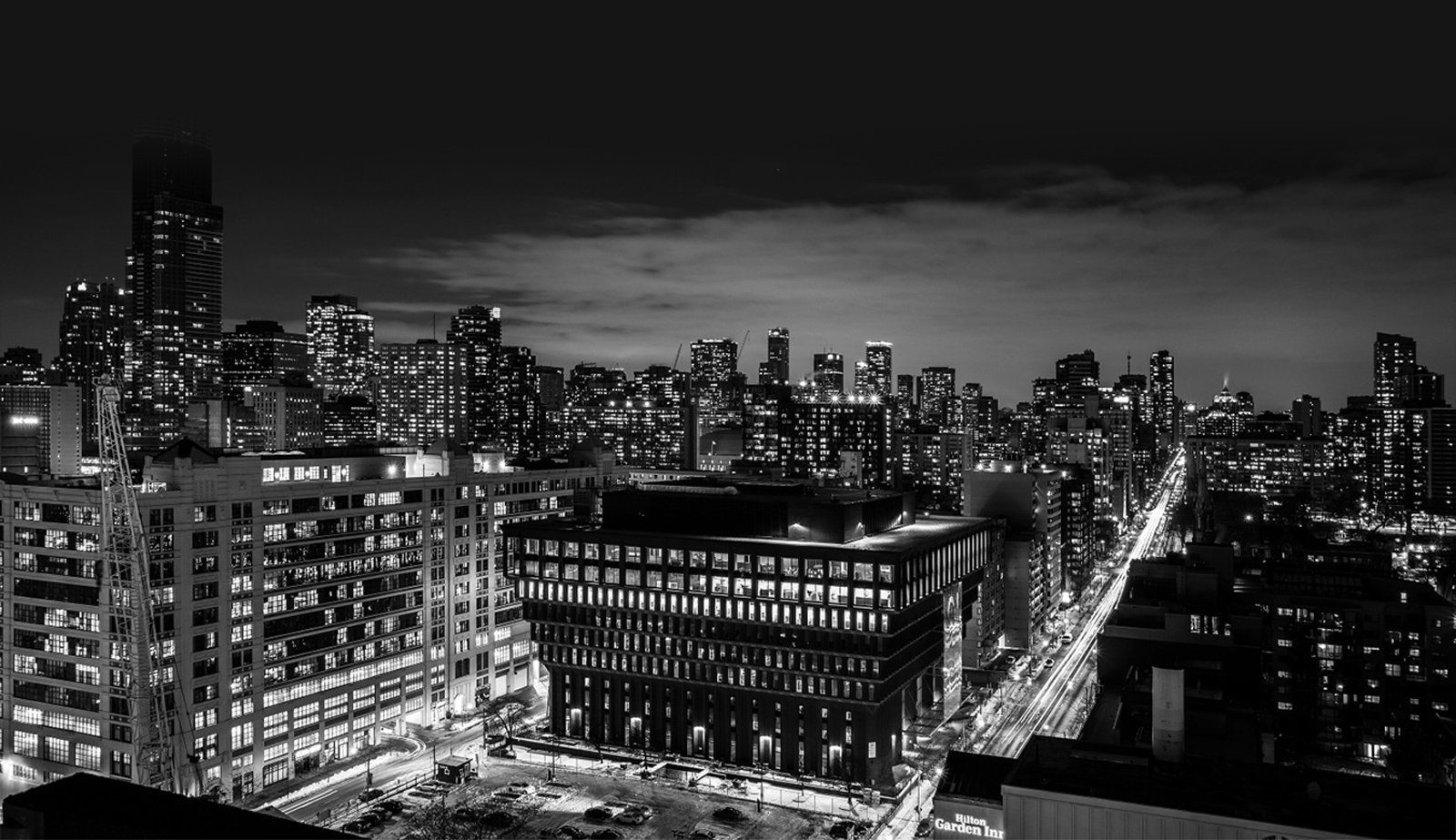 Monochrome Skyscraper - Editorial Photography Toronto by Matt Tibbo