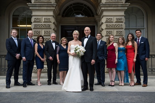 Wedding Group Shot by Luxury Wedding Photographer in Toronto ON - Matt Tibbo