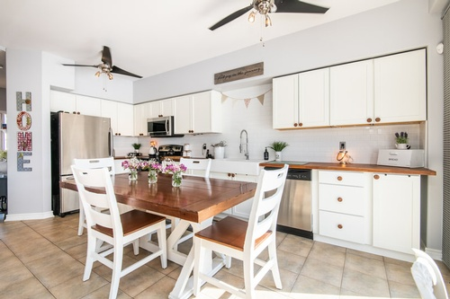 Shabby Chic Kitchen - Real Estate Photography Vaughan by Matt Tibbo