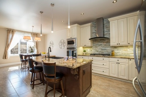 Modern Classic Kitchen - Real Estate Photography Services Burlington by Matt Tibbo
