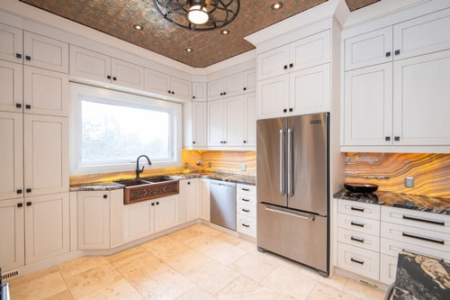 Modern White Kitchen - Real Estate Photography Services Shelburne by Matt Tibbo