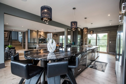 Luxurious Kitchen - Real Estate Photography Services Oakville by Matt Tibbo