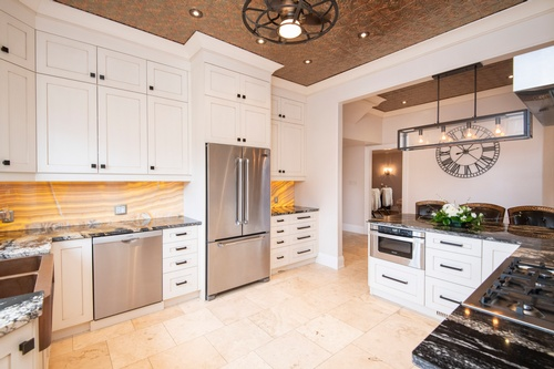 Modular Kitchen with Cabinets Captured by Real Estate Photographer Uxbridge - Matt Tibbo