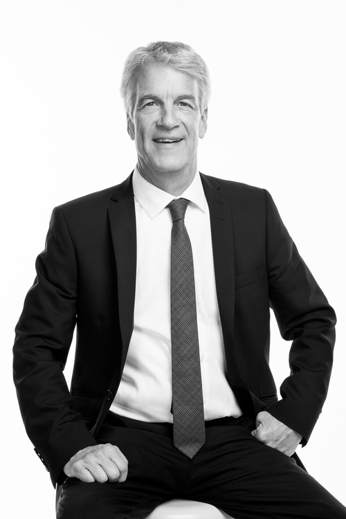 Monochrome Business Portrait by Business Photographer Markham - Matt Tibbo