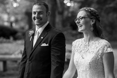 Happy Newly Married Couple Captured by Luxury Wedding Photographer Mississauga - Matt Tibbo