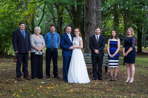 Wedding Group Shot by Luxury Wedding Photographer Uxbridge - Matt Tibbo