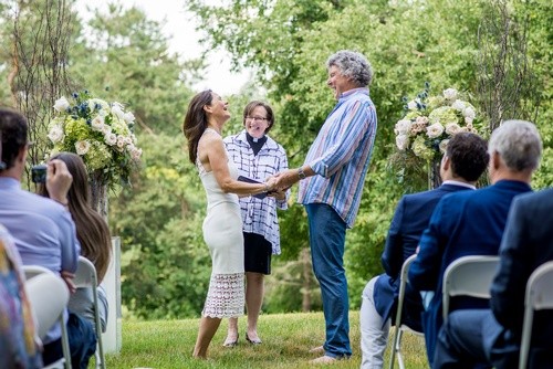 Couple Taking Vows Captured by Wedding Photographer Uxbridge - Matt Tibbo