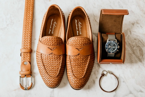 Men's Accessories for the Groom - Luxury Wedding Photography Vaughan by Matt Tibbo