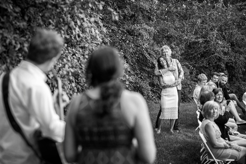 Newly Wed Couple Dancing Captured by Wedding Photographer Burlington - Matt Tibbo