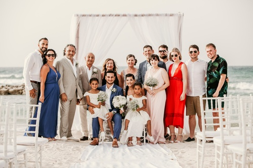 Wedding Group Shot by Wedding Photography Hamilton - Matt Tibbo