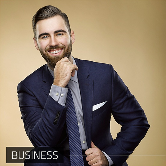 Businessman Captured by Business Photographer Milton at Matt Tibbo Photography