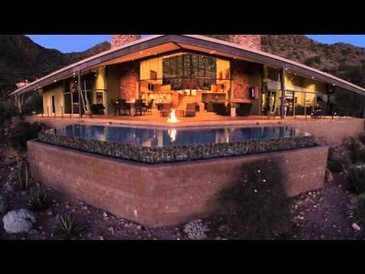 MLS marketing with aerial coverage- Scottsdale Mountain Home Tour
