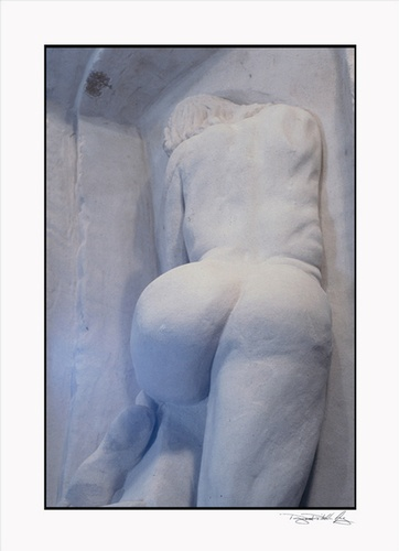 Woman in Cave Earth Sculpture - Framed Prints New York at DDG Design Studio Inc