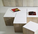Crossword Coffee Table Cubes - Furniture Design Long Island by DDG Design Studio Inc