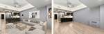 Before and After Home Staging Services Chelsea, New York by DDG Design Studio Inc