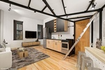 Strategic Space Planning Upper West Side, New York for Modular Kitchen by DDG Design Studio Inc