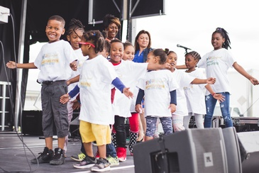 Young Kids Perform at Durham Carifest - Caribbean Arts Festival Ajax