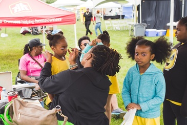 Face Painting and Fun Activities at Durham Carifest - Caribbean Family Fun Durham