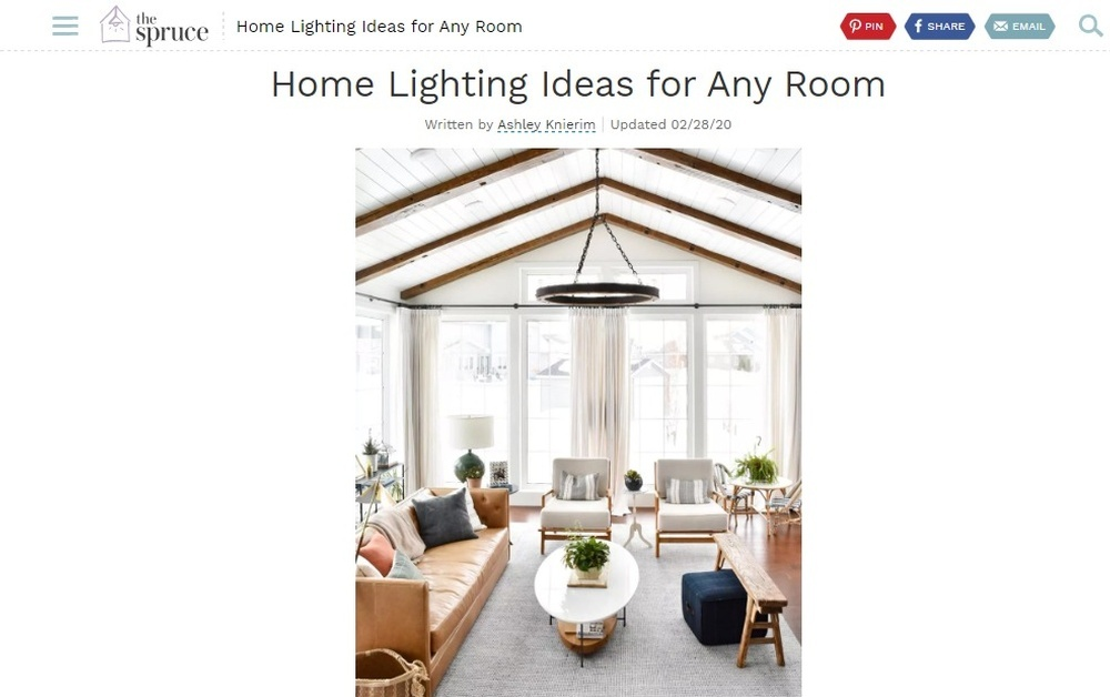 Home Lighting Ideas For Any Room