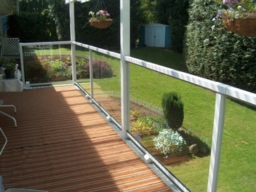 Glass Railing - General Home Repair Services Vancouver by Best Handy Hubby Renovation and Painting Services