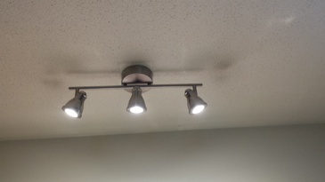 LED kitchen track lighting by Best Handy Hubby Renovation and Painting Services
