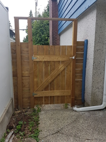 Gate creation by Best Handy Hubby Renovation and Painting Services