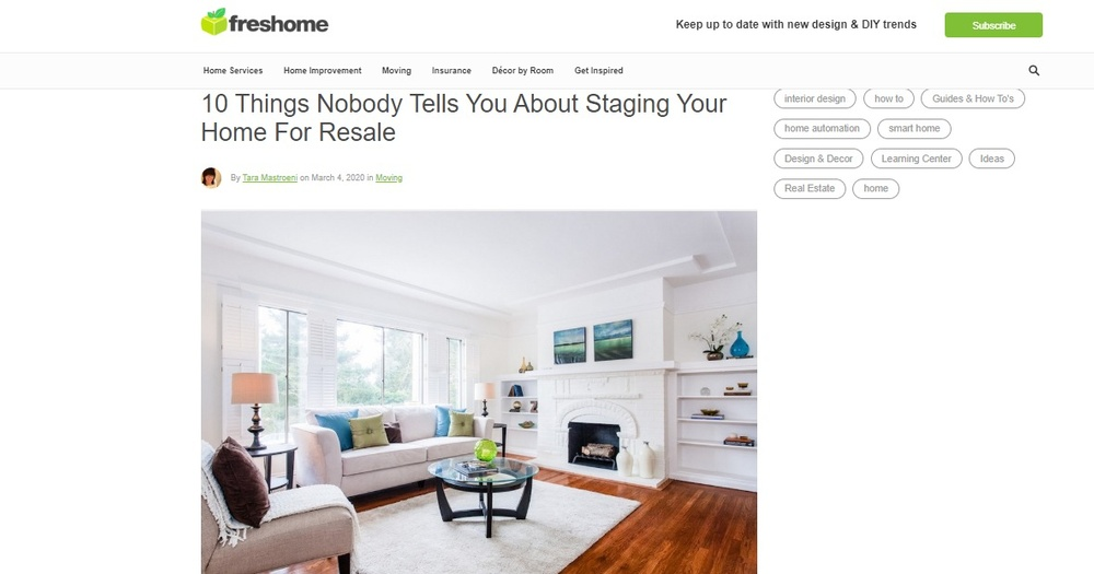 10 Things Nobody Tells You About Staging Your Home For Resale   Freshome com.jpg